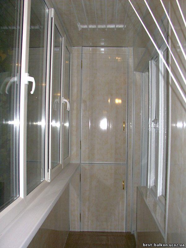 Ремонт, отделка и остекление балконов и лоджий.